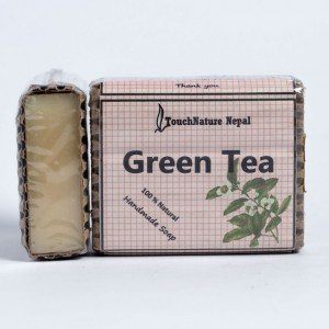 Touch Nature Green Tea Soap (80 gms.)