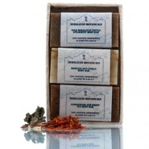 Himalayan Botanicals 3 Mini Soap Set