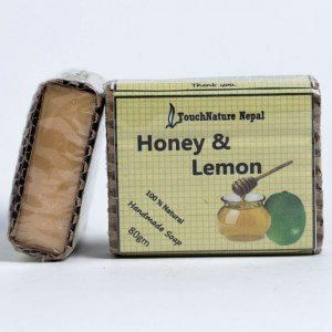 Touch Nature Honey and Lemon Soap (80 gms.)
