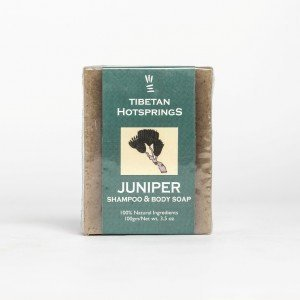Tibetan Hotsprings Juniper Shampoo and Body Soap (100 gms.)