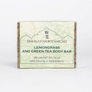 Himalayan Botanicals Lemongrass and Green Tea Body Bar (100 gms.)