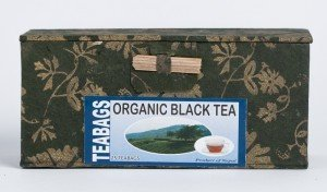 Organic Black Tea (Box 25 Tea Bags in Paper)