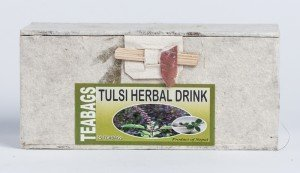 Tulsi Herbal Tea (25 Tea Bags in Paper Box)