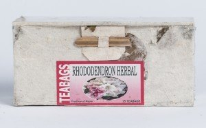 Rhododendron Tea (25 Tea Bags in Paper Box)