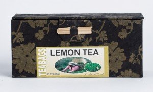 Lemon Tea (25 Tea Bags in Paper Box)