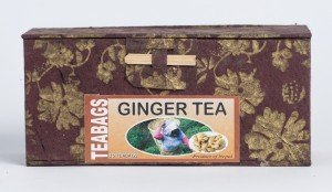 Ginger Tea (25 Tea Bags in Paper Box)