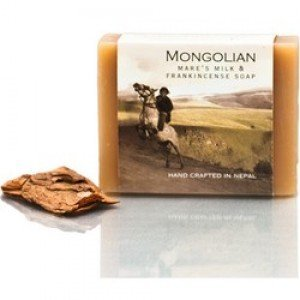 Mongolian Mares Milk And Frankincense Soap