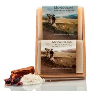 Mongolian Mares Milk 2 Soap Set