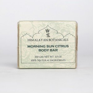 Himalayan Botanicals Morning Sun Citrus Body Soap (100 gm.)