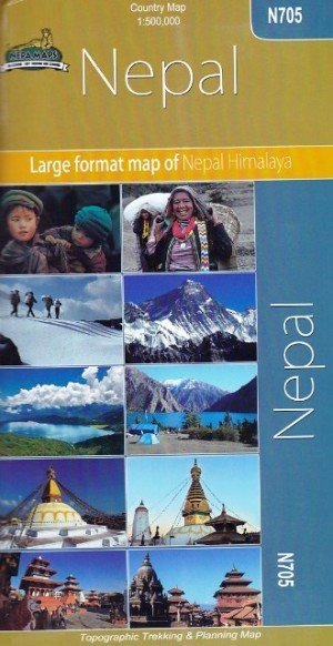Country Map Nepal N705
