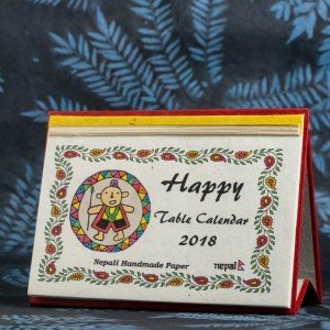 "Table Calendar 2018 – ""Happy"""