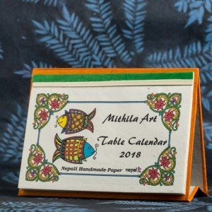 "Table Calendar 2018 – ""Mithila Art"""