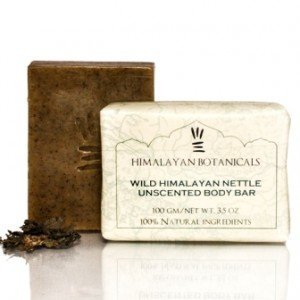 Himalayan Botanicals Wild Himalayan Nettle Unscented Body Soap
