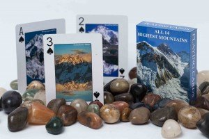 "Playing Cards: ""All 14 Highest Mountains"""