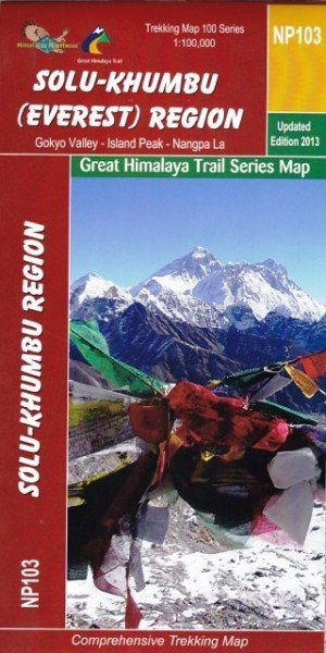 Solu Khumbu (Everest) Region Trekking Map NP103