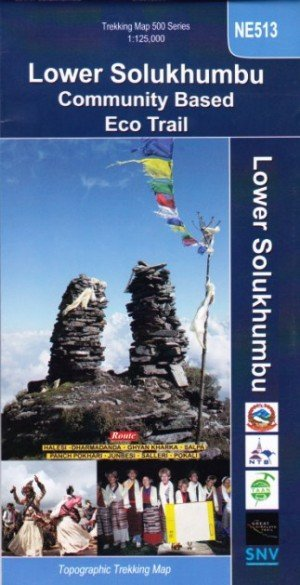 Trekking Map Lower Solukhumbu NE513