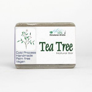 Himalayan Aroma Tea Tree Natural Bar Soap (100 gms.)