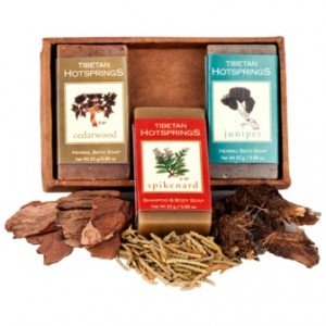 Tibetan Hotprings 3 Mini Soap Set