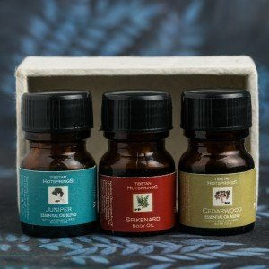 Tibetan Hotsprings Juniper, Spikenard and Cedarwood Essential Oil Blend Kit (12 ml) 0.126
