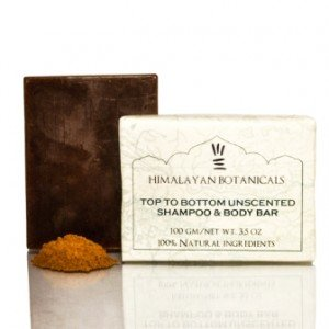 Himalayan Botanicals Top To Bottom Unscented Shampoo And Body Soap