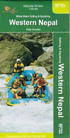 Rafting Map White Water Rafting & Kayaking Western Nepal RF703