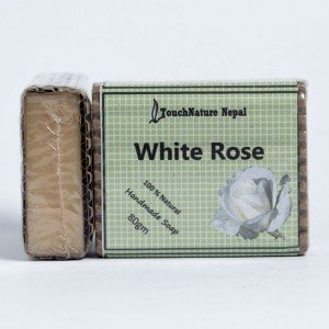 Touch Nature White Rose Soap (80 gms.)