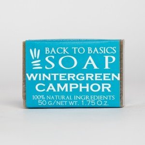 Back to Basics Wintergreen Camphor Soap (50 gms.)