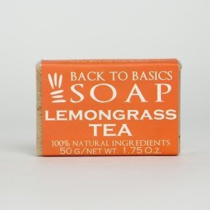 Back to Basics Lemongrass and Tea Soap (50 gms.)