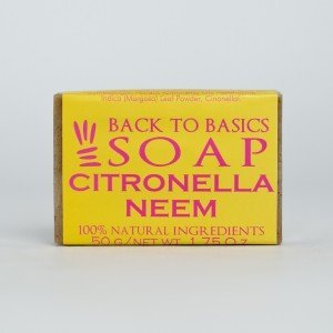 Back to Basics Citronella Neem Soap (50 gms.)