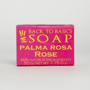 Back to Basics Palmarosa and Rose Soap (50 gms.)