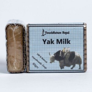 Touch Nature Yak Milk Soap (80 gms.)